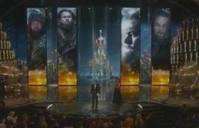 Leonardo DiCaprio wins his first #Oscar2016