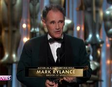 #Oscars2016: Mark Rylance wins Best Supporting Actor