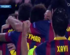Barcelona vs Manchester City 2 1 All Goals 1232014