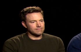 Batman V Superman - Sad Affleck during interview
