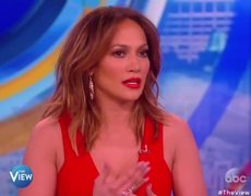 "The View - Jennifer Lopez Calls Herself ""Chunky,"" Offends Raven-Symone"