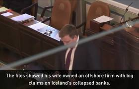 Panama Papers: Icelandic Prime Minister steps down