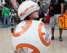 Cutest Star Wars costume