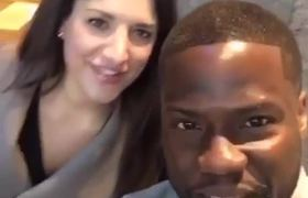 #VIRAL - Mujer confunde a Kevin Hart con Chris Rock