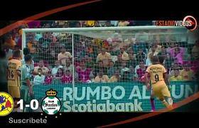 America vs Santos (1-0) GOL y RESUMEN Semifinal VUELTA Concachampions - Concacaf 2016
