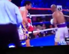 Manny Pacquiao vs Timothy Bradley 3 - FULL Fight (Round 9)