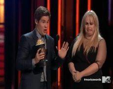 2016 MTV Movie Awards - Rebel Wilson and Adam Devine wins Best Kiss