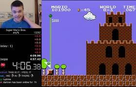 New World Record Super Mario Bros Beaten In Under Five