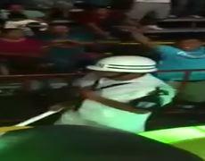 Bailecito sexy de Marino en el Carnaval de Veracruz