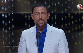 Premio TVyNovelas 2016: FERNANDO COLUGA GANA Como Mejor Villano