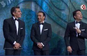 Premios TVyNovelas 2016 - OMAR CHAPARRO, ADAL RAMONES Y ADRIAN URIBE EN SKETCH COMICO