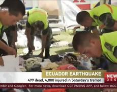 Nuevo sismo de 6.2 grados sacude a Ecuador