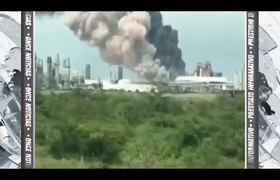 Explota planta de Pemex en Veracruz