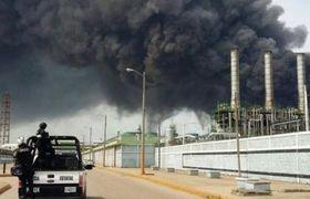 Explosión en planta de Pemex en Coatzacoalcos, Veracruz