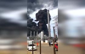 Videos de la Explosión en Petroquímica de Pemex en Veracruz