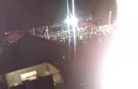 Queman escenario tras cancelar concierto de