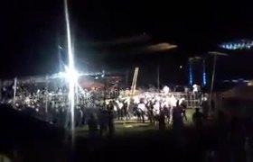El Komander cancela concierto y su publico se enoja