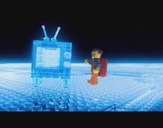 The Lego Movie Official Movie CLIP Double Decker Couch 2014 HD Will Ferrell Movie