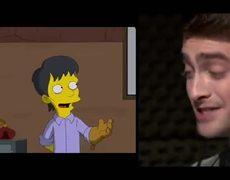 The Simpsons Guest Voice Daniel Radcliffe