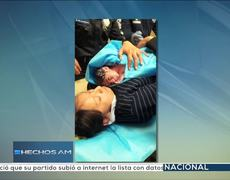 Young woman gives birth in Metro of Mexico City