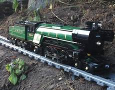 Lego Train Track Will Take You For A Ride