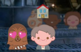 Star Wars: The Force Awakens with Emoji