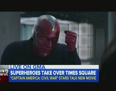 'Captain America: Civil War' - Visit GMA