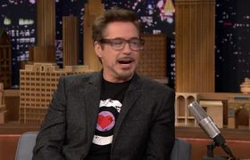 The Tonight Show: Robert Downey Jr. Becomes His 20-Year-Old Self in Captain America: Civil War
