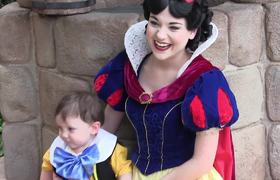 #CUTE - 2 year old with autism falls in love with Snow White