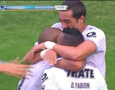 Tigres 1 - 2 Monterrey - Gol de Dorlan Pabón