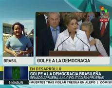 Dilma Rousseff es Suspendida del cargo de presidenta