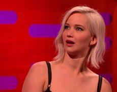 Jennifer Lawrence es avergonzada por Harrison Ford