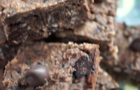 Flourless Vegan Friendly Black Bean Brownies