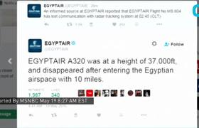 Raw - EgyptAir Flight Vanishes With 66 People Onboard
