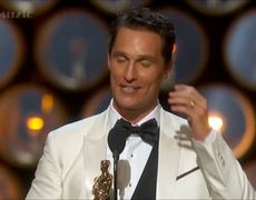 2014 Oscars Awards Matthew McConaughey Wins Best Actor Acceptance Speech