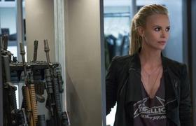 Charlize Theron #Fast8 First Look