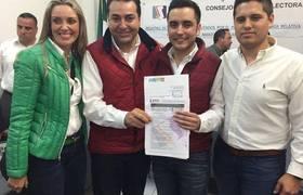 Candidato Junior PVE PRI Marco Antonio Irizar Lizarraga