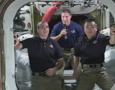 Astronauts of NASA JAXA ISS Congratulate Gravity on Academy Awards