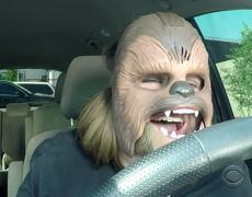The Late Late Show: Chewbacca Mom Takes James Corden to Work