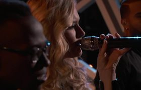 The Voice USA 2016 Hannah Huston, Brian Nhira, Bryan Bautista & Caity Peters: