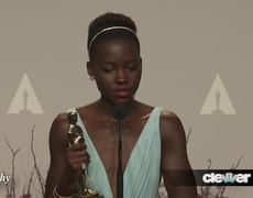 Oscars 2014 Interview Lupita Nyongo Best Supporting Actress