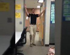 'Buenos dias!' Students film Spanish Teacher's Morning Greeting