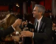 Oscar 2014 WINNER Director Alfonso Cuarón Gravity