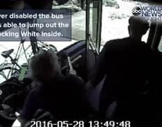 Octagenaria atacada por pasajero en autobus