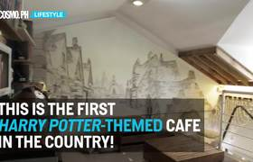 Harry Potter-Themed Cafe in Philippines