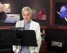 FINDING DORY B-Roll Footage - Ellen Degeneres (2016)