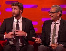 Norton Show - Liam Hemsworth Got Chest-Kicked By Jean-Claude Van Damme