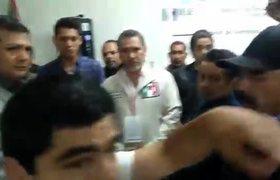 Ciudadano es golpeado por elementos del PRI en Tijuana