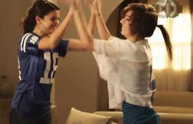 Selena Gomez Scores a Touchdown With Christina Grimmie