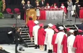 News - Parkland Senior Walks Out of Graduation Ceremony